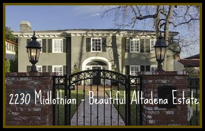 Beautiful Altadena home on Midlothian