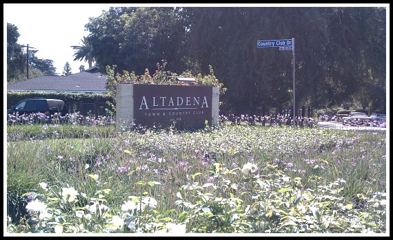 Altadena Country Club is a great area to live.