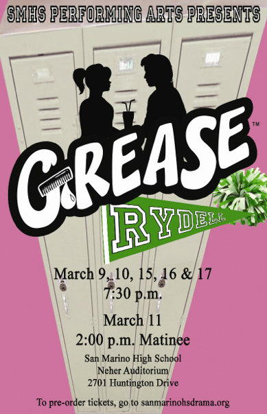 San Marino High School Presents Grease