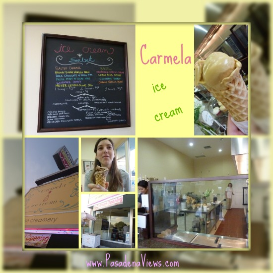 Carmela Ice Cream in Pasadena California