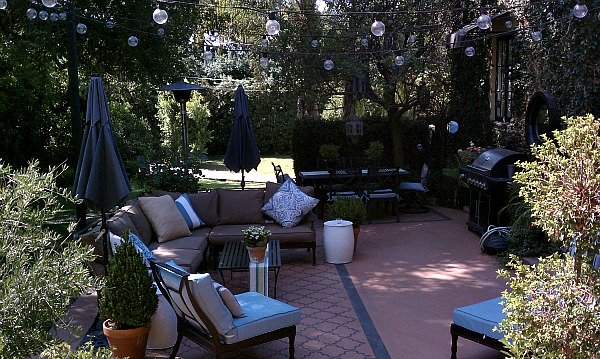 Great outdoor patio greets you at 1210 New York Drive